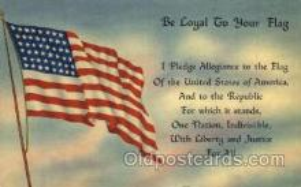fgs001028 - Flag, Flags Postcard Post Card