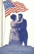 fgs001035 - Flag, Flags Postcard Post Card