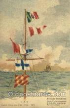 fgs001053 - Flag, Flags Postcard Post Card