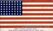 fgs001070 - Flag, Flags Postcard Post Card