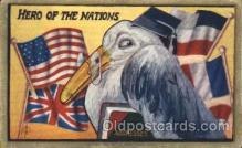 fgs001081 - Hero Flag, Flags, Postcard Post Card