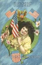 fgs001082 - Annie Laurie Flag, Flags, Postcard Post Card