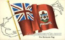 fgs100005 - Bermuda Flag, Flags, Postcard Post Card