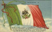 fgs100009 - Mexico Flag, Flags, Postcard Post Card