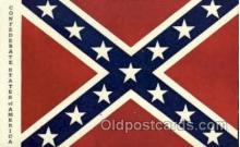 fgs100018 - Confederate States of America Flag, Flags, Postcard Post Card