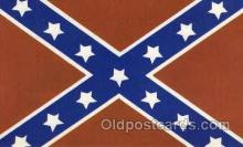 fgs100050 - Confederate States of America Flag, Flags, Postcard Post Card