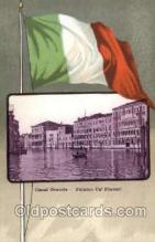 fgs100065 - Italy Flag, Flags, Postcard Post Card