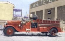 fir001076 - Open Cab Pumper, Emerald Lakes Fire District Mt Pocono, PA, USA Postcard Post Cards Old Vintage Antique