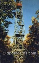 fir001106 - Fire Tower Cook Forest State Park Postcard Post Cards Old Vintage Antique