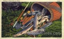 fis001036 - Fishing Postcard Post Card