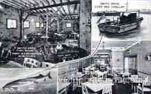 fis001081 - Smith Bros. Fish Shanty, Port Washington, Wisconsin, USA, Deap Sea Troller, Fishing Postcard Post Card