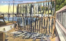 fis001108 - King Fish, Fishing Postcard Post Card