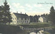 fis001160 - Fish Hatchery, Caribou, Maine USA, Fish Hatchery, Caribou, Maine USA, Fishing Postcard Post Card