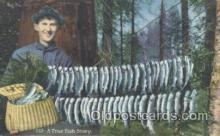 fis001163 - Fishing Postcard Post Card