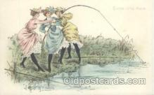 fis001170 - Artist F. ChamouinArtist F. Chamouin, Fishing Postcard Post Card