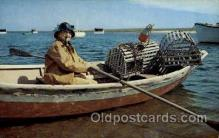 fis001256 - Cape cod, Mass., Massachusetts, USA Fishing Postcard Post Card