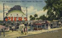 fis001281 - Miami Florida, Yacht Basin, USA Fishing Old Vintage Antique Postcard Post Card