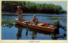 fis001338 - Florida, USA Fishing Old Vintage Antique Postcard Post Card