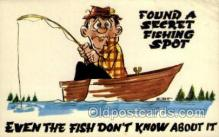 fis001375 - Fishing Old Vintage Antique Postcard Post Card
