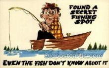 fis001376 - Fishing Old Vintage Antique Postcard Post Card