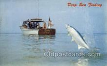 fis001402 - Judy II Fishing Old Vintage Antique Postcard Post Card