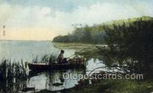 fis001404 - Fishing Old Vintage Antique Postcard Post Card