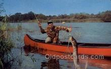 fis001412 - Fishing Old Vintage Antique Postcard Post Card