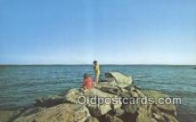 fis001571 - Fishing Cape Cod, MA, USA Postcard Post Cards Old Vintage Antique