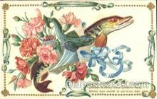 flr001084 - Fish and Flower Flower, Flowers, Postcard Post Card