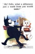 flx000034 - Felix The Cat Postcard Post Card