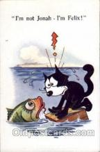 flx000035 - Felix the Cat Postcard Post Card