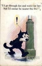 flx000045 - Felix the Cat Postcard Post Card