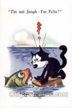 flx000053 - Felix the Cat Postcard Post Card