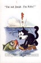 flx000066 - Felix the Cat Postcard Post Card