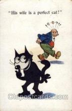 flx000098 - Felix the Cat Postcard Post Card