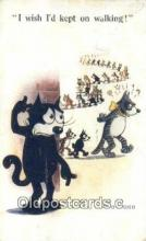 flx000129 - Series 449 Felix the Cat Postcard Post Card