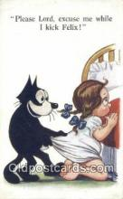 flx000132 - Series 451 Felix the Cat Postcard Post Card