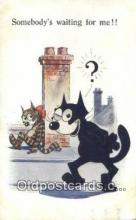 flx000144 - Series 4877 Felix the Cat Postcard Post Card