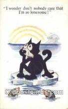 flx000145 - Series 4878 Felix the Cat Postcard Post Card