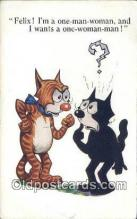 flx000149 - Series 4876 Felix the Cat Postcard Post Card