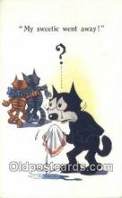 flx000157 - Series 4826 Felix the Cat Postcard Post Card