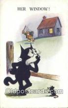 flx000161 - Series 4870 Felix the Cat Postcard Post Card