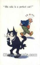 flx000165 - Series 4868 Felix the Cat Postcard Post Card
