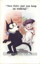 flx000169 - Series 4729 Felix the Cat Postcard Post Card