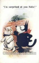 flx000172 - Series 4724 Felix the Cat Postcard Post Card