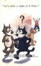 flx000183 - Series 4823 Felix the Cat Postcard Post Card