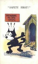 flx000186 - Series 582 Felix the Cat Postcard Post Card