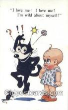 flx000193 - Series 4817 Felix the Cat Postcard Post Card