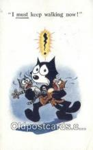 flx000203 - Series 515 Felix the Cat Postcard Post Card