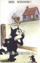 flx000204 - Valentine Series  Felix the Cat Postcard Post Card